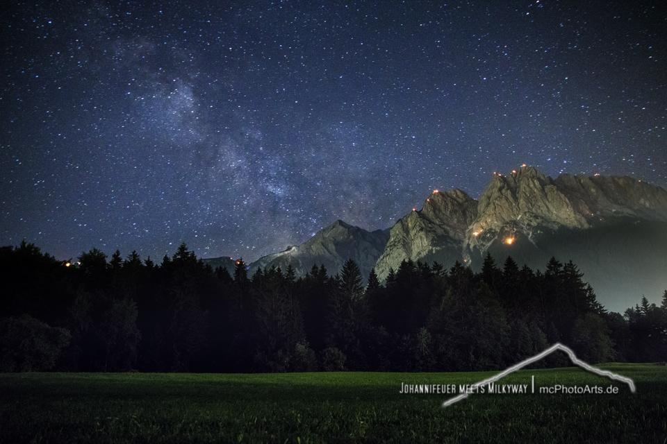 201206 - Johannifeuer meets Milkyway