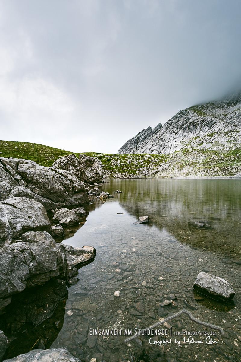 Einsamkeit am Stuibensee