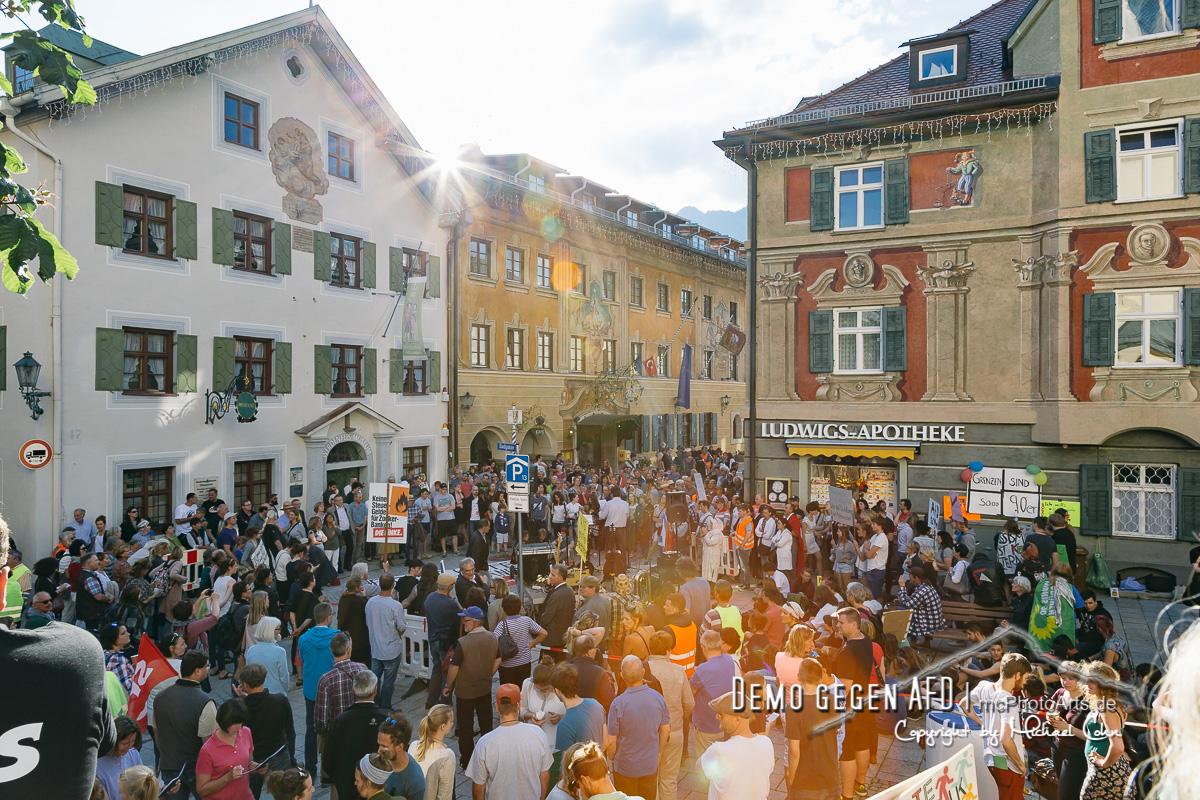 Demo gegen AFD